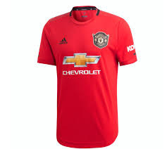adidas Manchester United Authentic Home Jersey 19/20