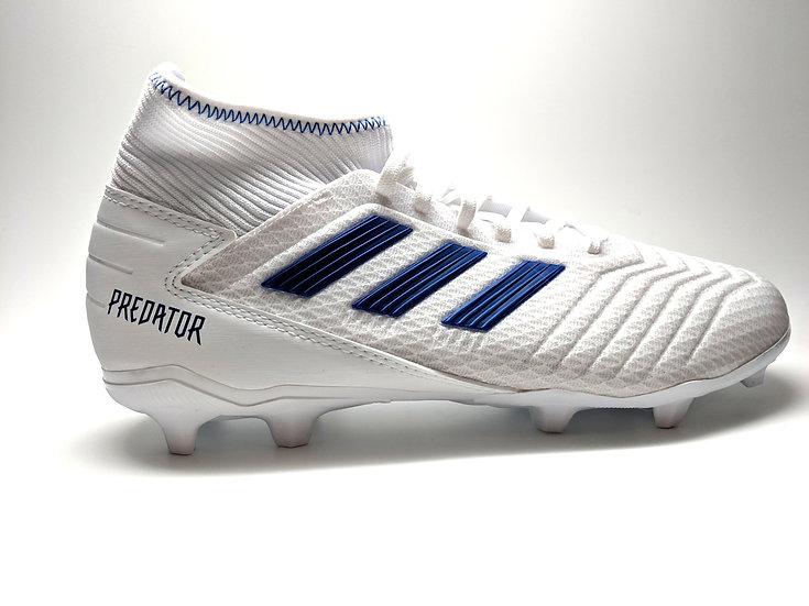 adidas Predator 19.3 Firm Ground Youth Soccer Cleat