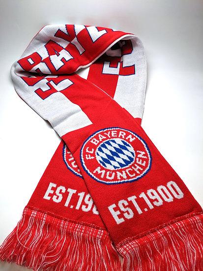 FC Bayern München Est. 1900 Reversible Fan Scarf