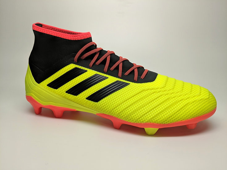 adidas Predator 18.2 Firm Ground Soccer Cleat