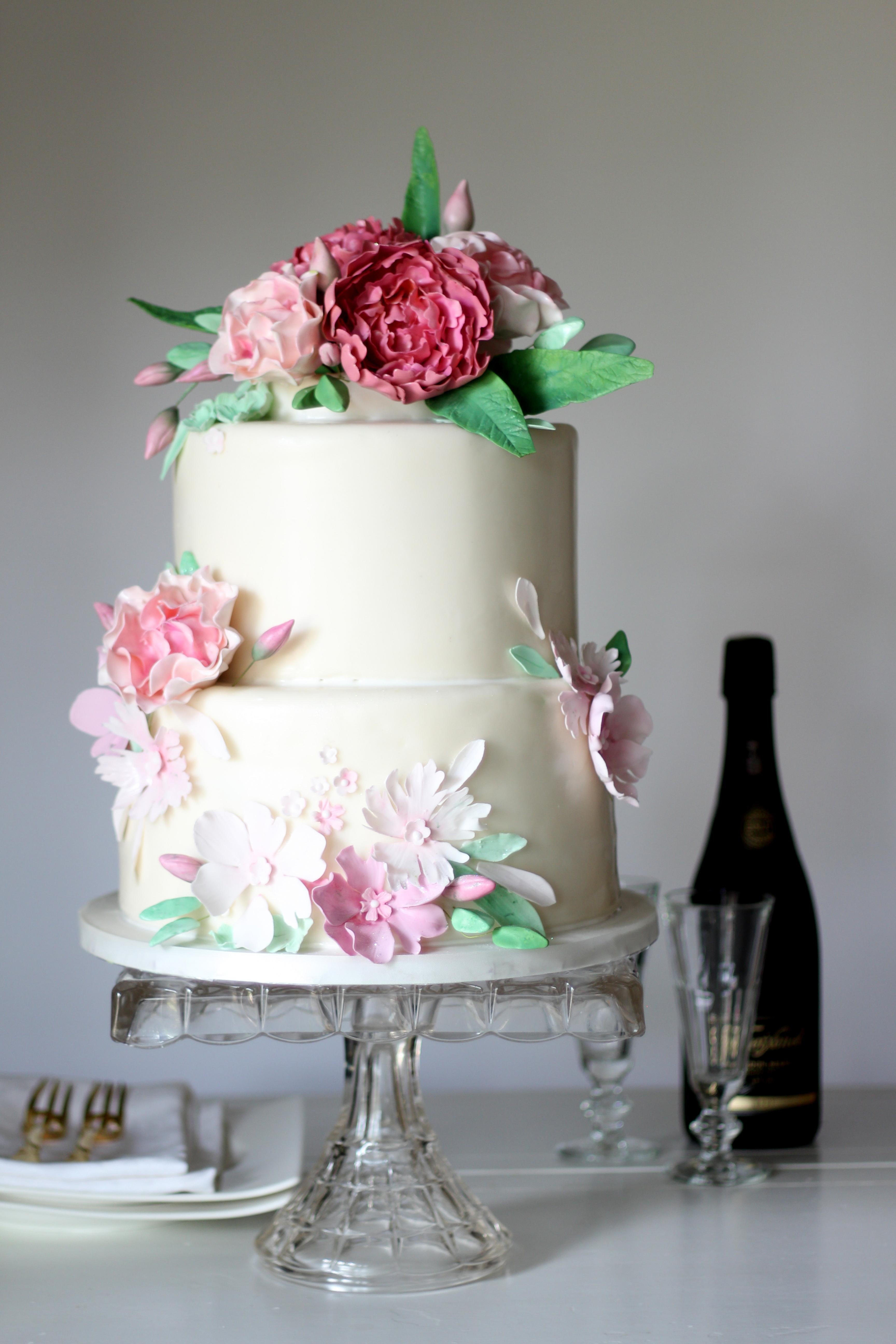 pink peony and rose shower cake.jpg