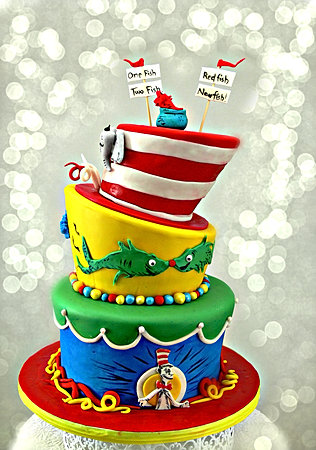 ... Dr. Suess 3 Tier Baby Shower ...