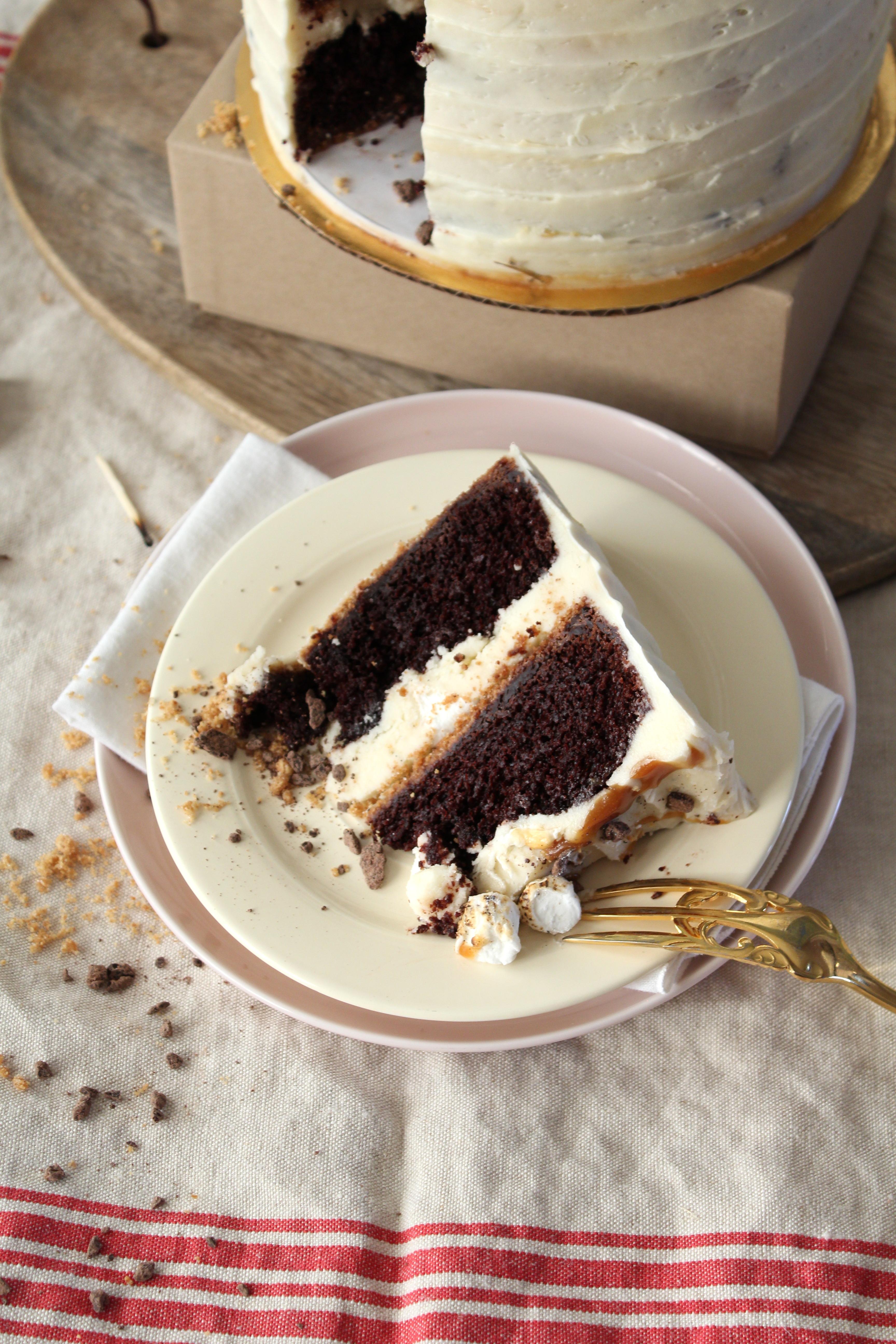 Smores cake cut.JPG