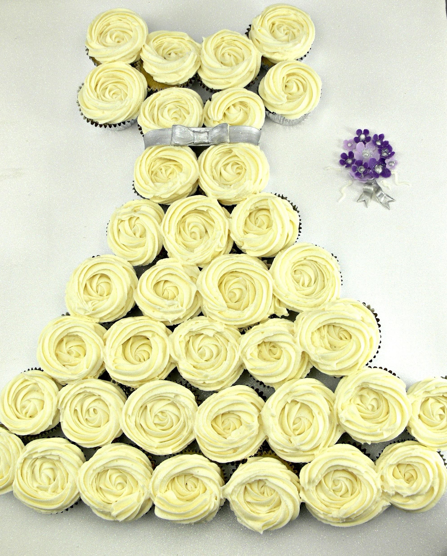 wedding dress cupcake cake.jpg