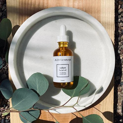 radiant facial oil