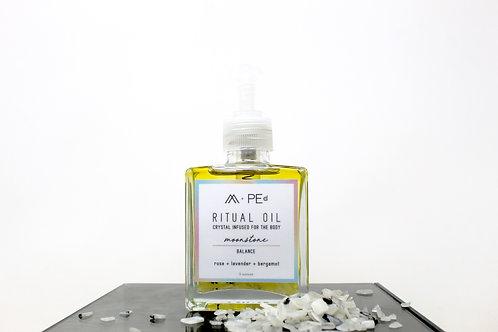 ritual oil: moonstone