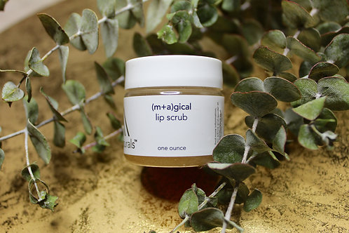 (m+a)gical lip scrub