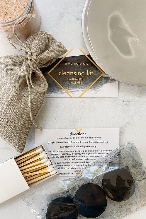 cleansing kit: sahumerio incense