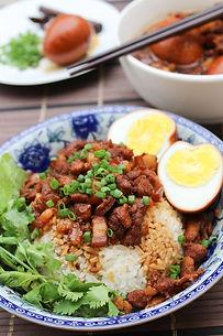 Taiwanese Pork Stew Rice (Lu Rou Fan) - www.tmcooksyourelax.com
