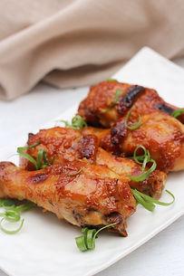Lemon Miso Caramel Chicken Drumsticks - www.tmcooksyourelax.com