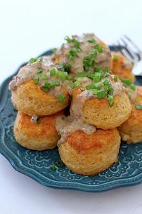 Cheddar Biscuits & Sausage Gravy.JPG