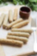 Homemade Chicken Mushroom Sausages - www.tmcooksyourelax.com