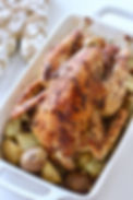 Roast Chicken with Anchovy Butter.JPG