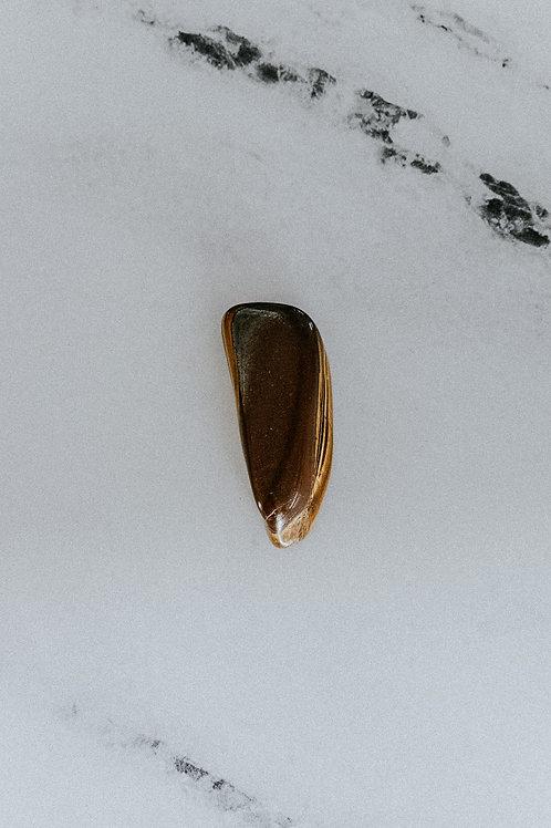 Tumbled Golden Tiger Eye Stone