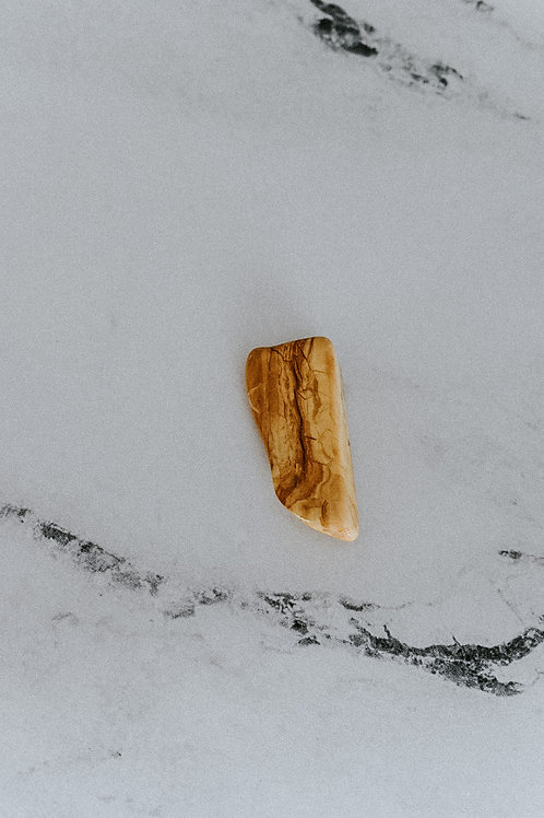 Tumbled Yellow Jasper Stone