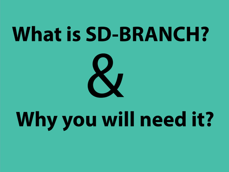 SD-Branch: What it is and why you'll need it
