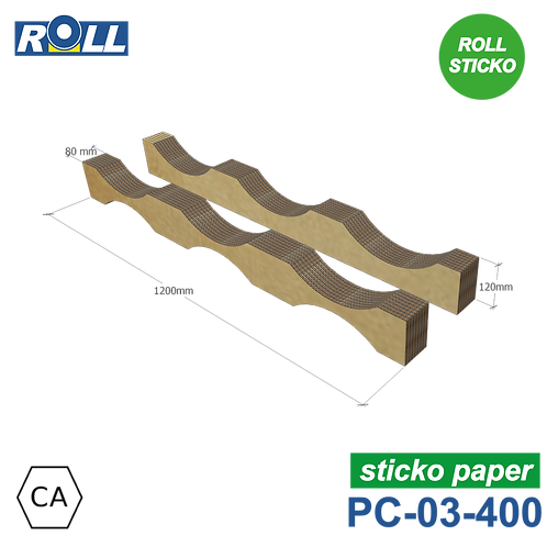 SELLE EN CARTON STICKO PC-03-400