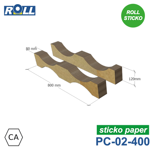 SELLE EN CARTON STICKO PC-02-400