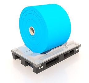 palettes en plastique tres résistante pour bobines palettes en plastique de taille spéciale palettes en plastique pour bobines durables palettes en plastique réutilisables pour bobines palettes en plastique pour bobines d'entrepôt automatisé