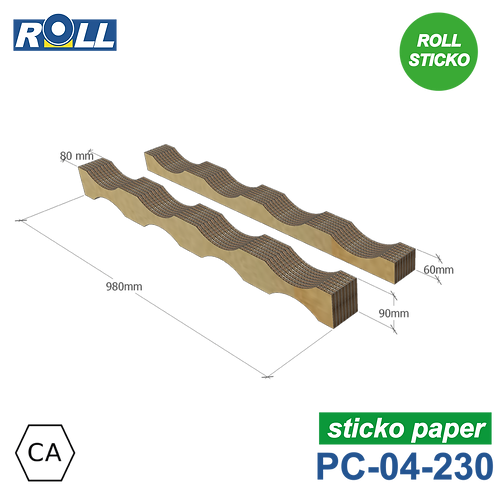 SELLE EN CARTON STICKO PC-04-230