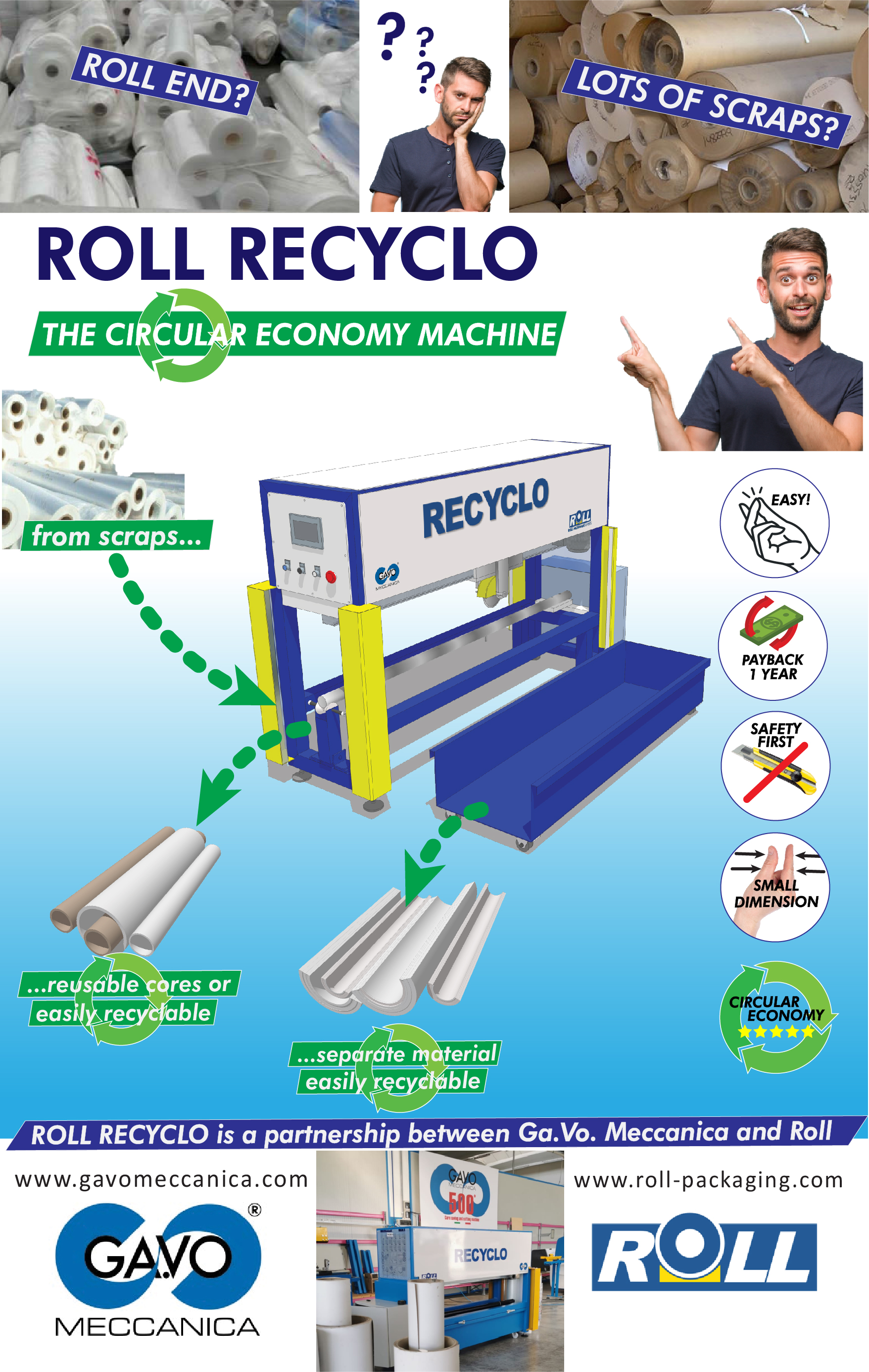 Campagna ROLL RECYCLO - ENG
