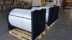 ROLL-PACKAGING FLANGES