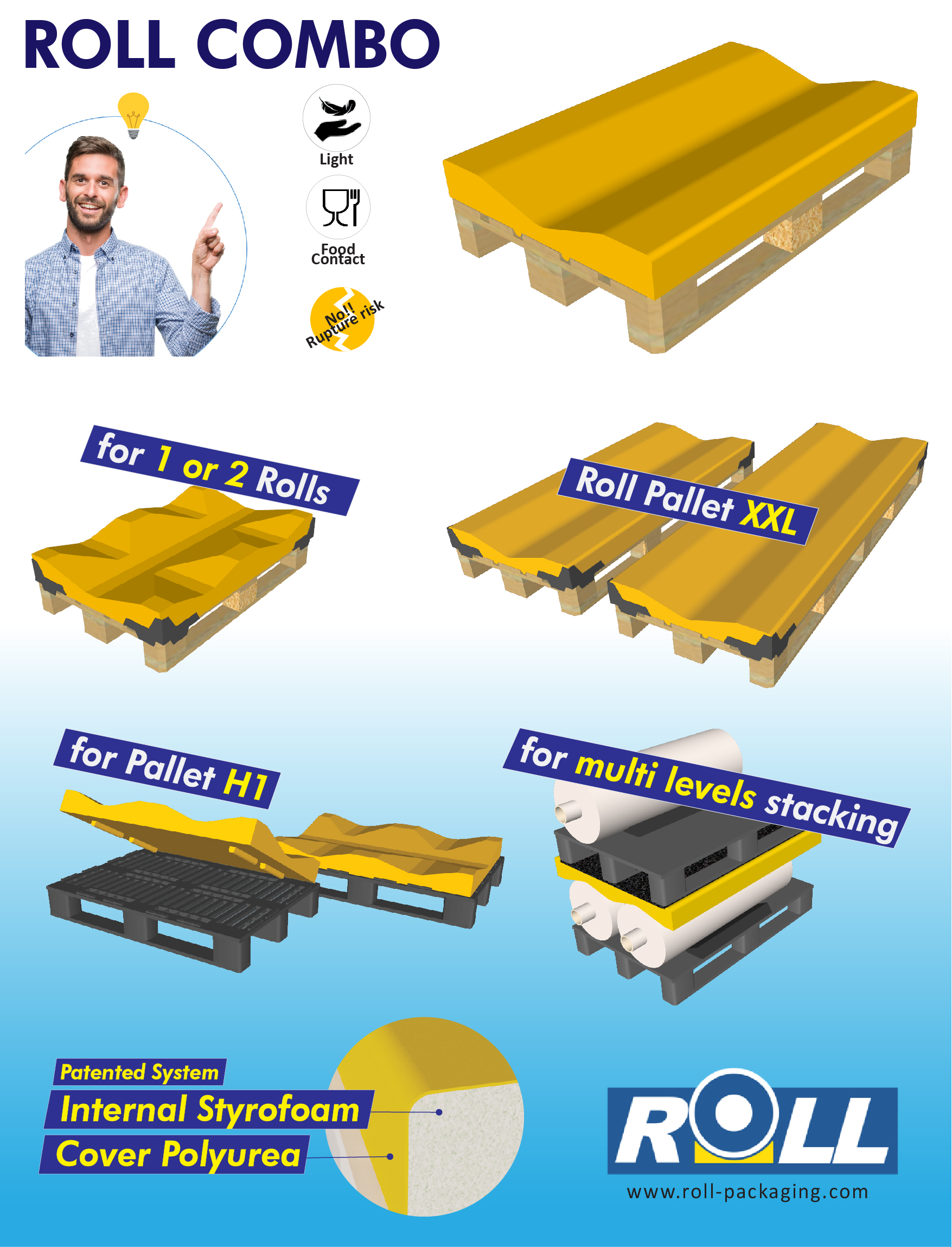 Campagna ROLL PALLET COMBO - ENG