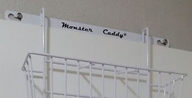 Tired of the clutter in your shower or bath? Check out Monster Caddy