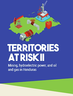Honduras extractive energy system infographic