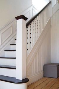 Coastal Edwardian staircase image