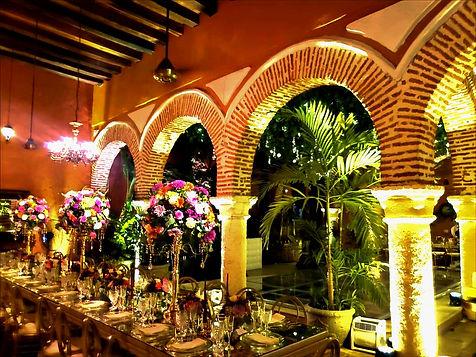Cartagena Villa Wedding Table