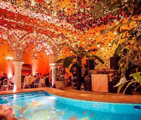 Cartagena Wedding Villa Setting