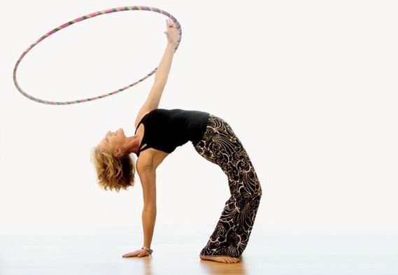 ChulaHoop and Yoga is a fun fusion!