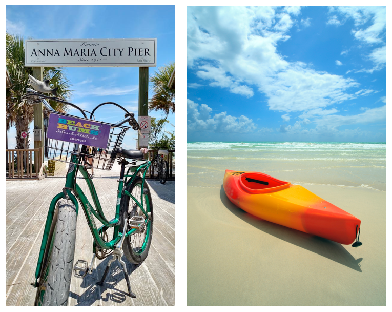 Beach Bums Bike and Kayak Rentals on Anna Maria Island