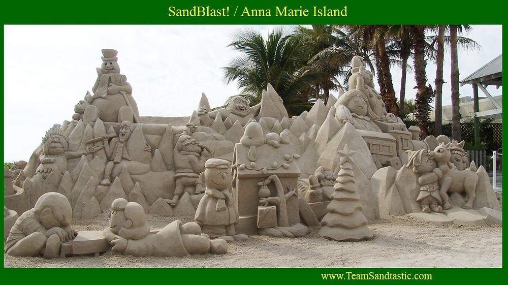 Sandblast Sand Sculpture