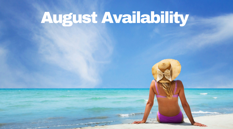 Anna Maria Island Home Rental ~ Vacation Rentals August Availability