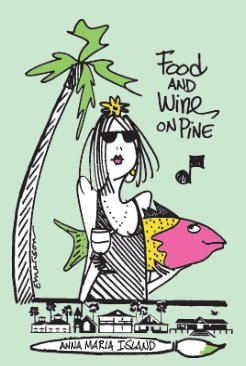 Food and Wine on Pine Logo