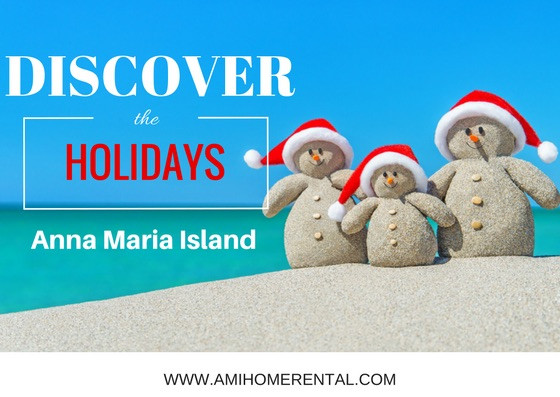 Discover Holidays on Anna Maria Island - Snowmen on Beach
