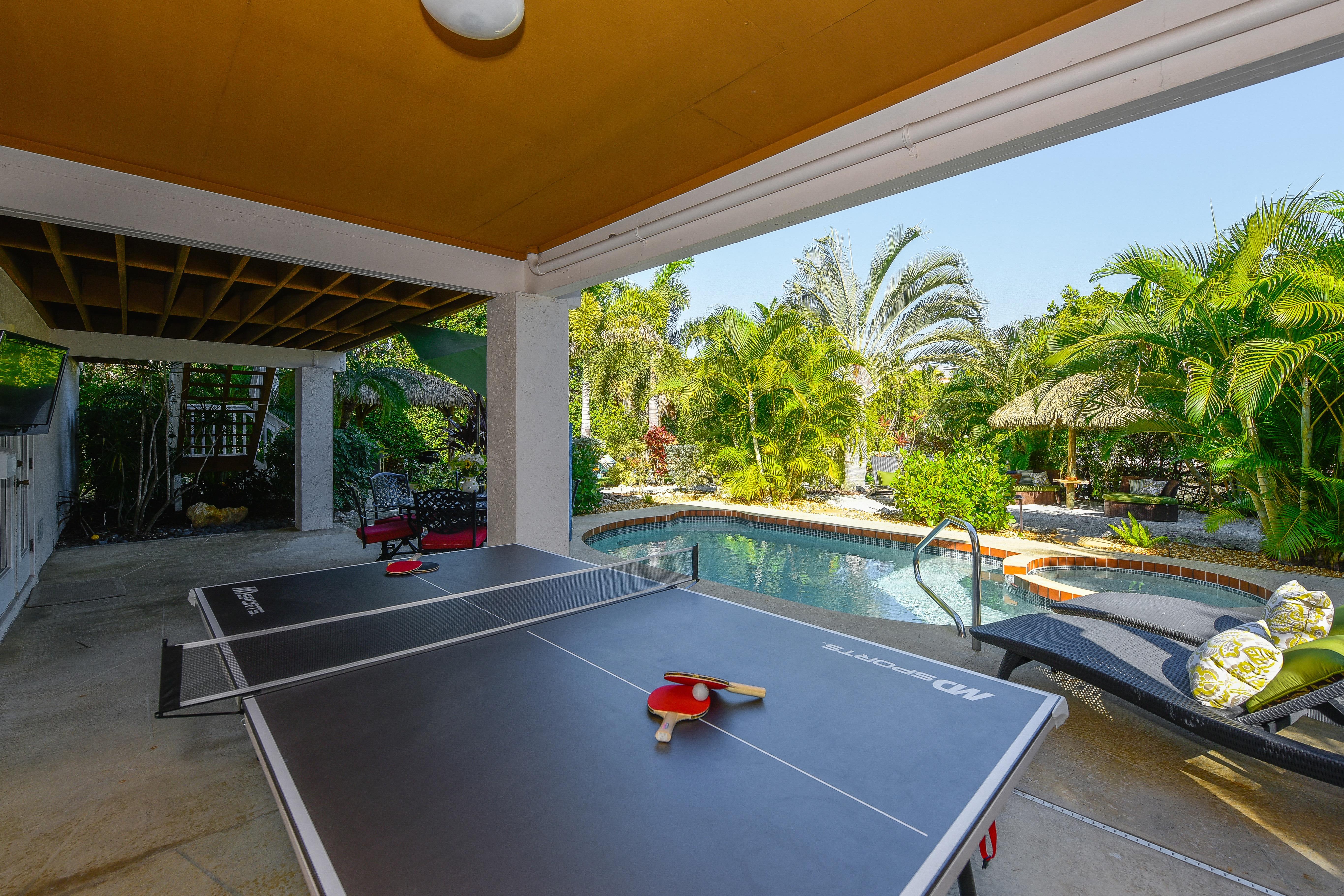 Sirenia Beach House Ping Pong Table