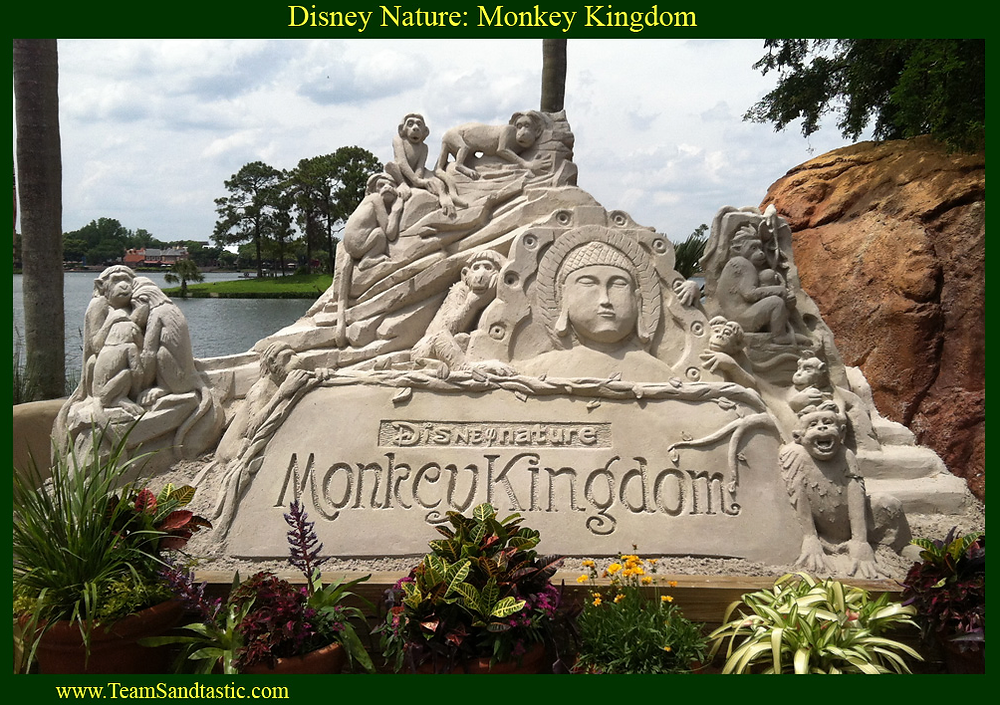 Disney Sand Sculpture by Team Sandtastic