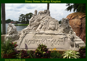 Disney Sand Sculpture by Team Sandtastic