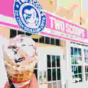 Two Scoops Ice Cream Shop - Best Ice Cream Anna Maria Island