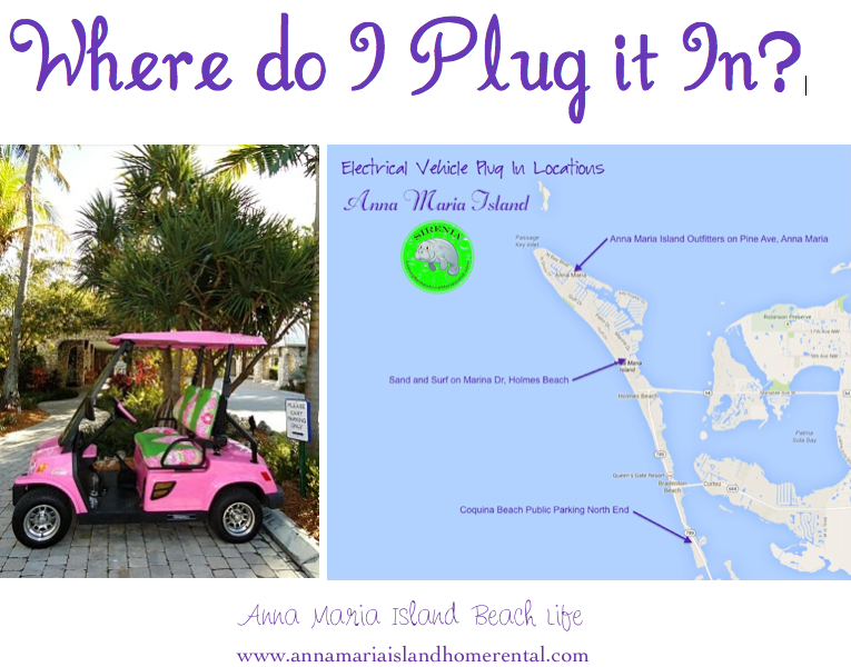 Electric Vehicle Plug in Outlets Anna Maria Island