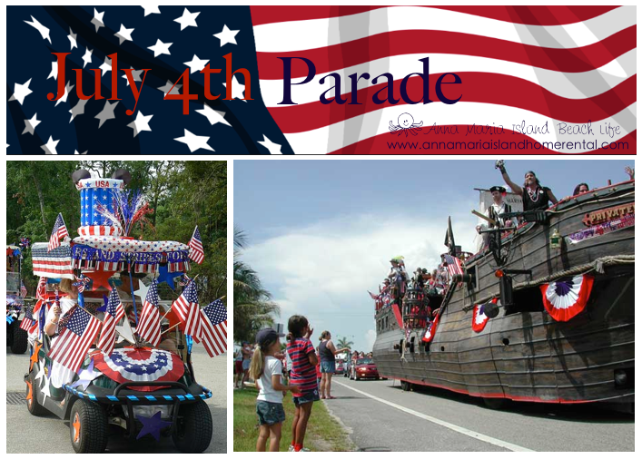 July 4th Anna Maria Island Beach Life Blog Photo