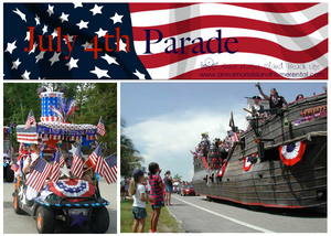 Anna Maria Island Beach Life - July 4th Parade
