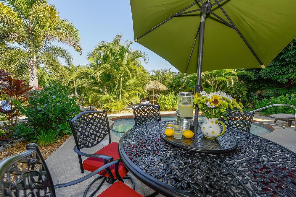 Sirenia Beach House Outdoor Dining Table