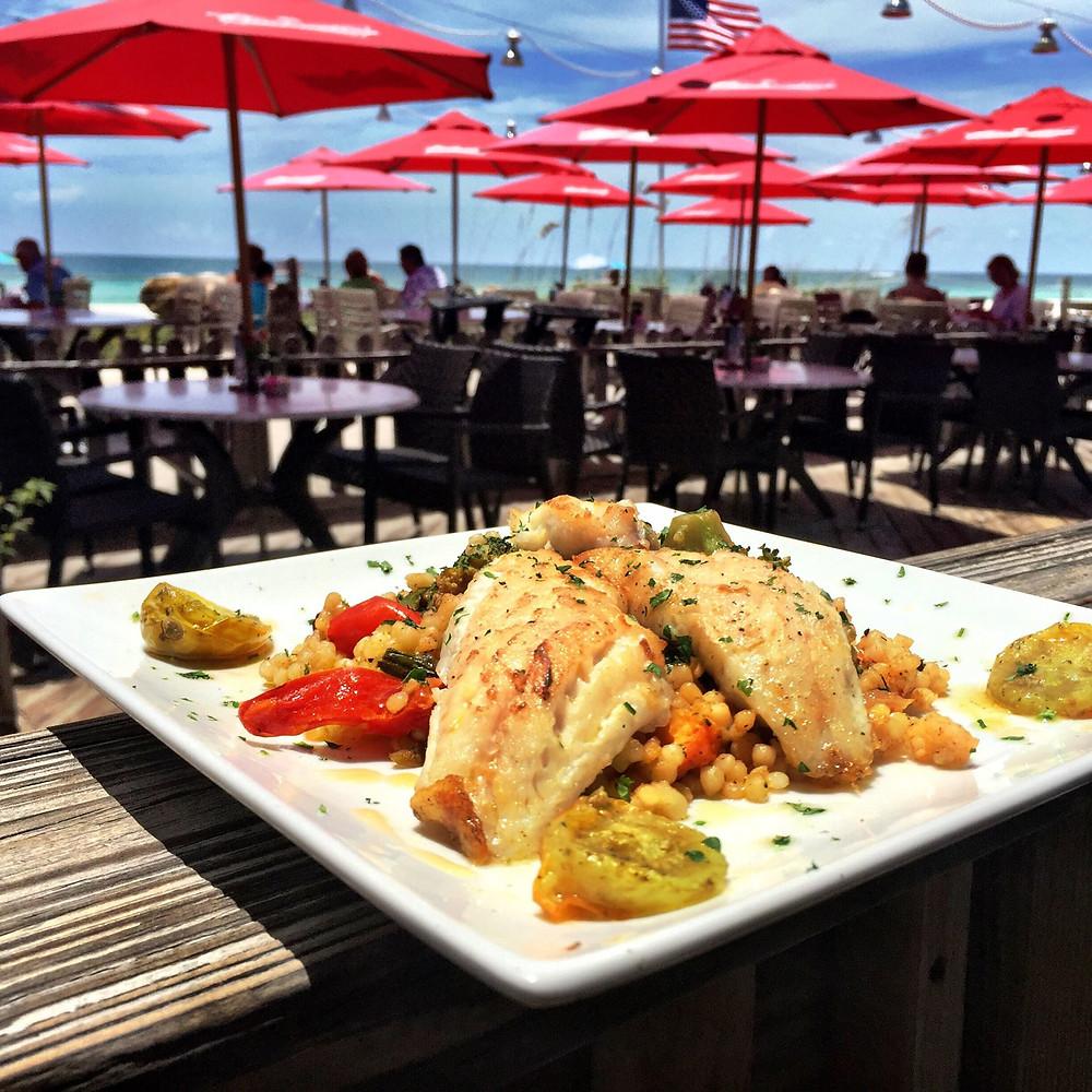 Fresh Fish at Beach House Restaurant Anna Maria Island, Florida