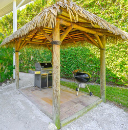 Sirenia Beach House Grill Tiki Hut