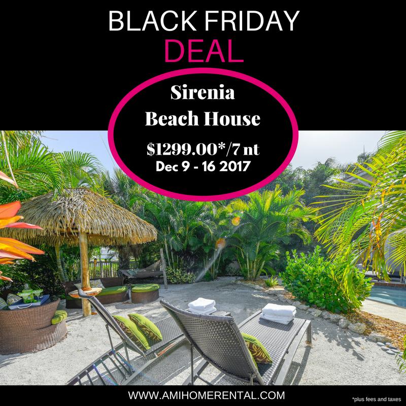 Black Friday Sirenia Beach House
