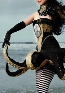 Sea Creature Steam Punk Dress for Halloween